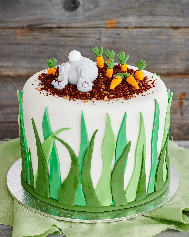 Chocolate Easter Bunny Cake Fast Ed
