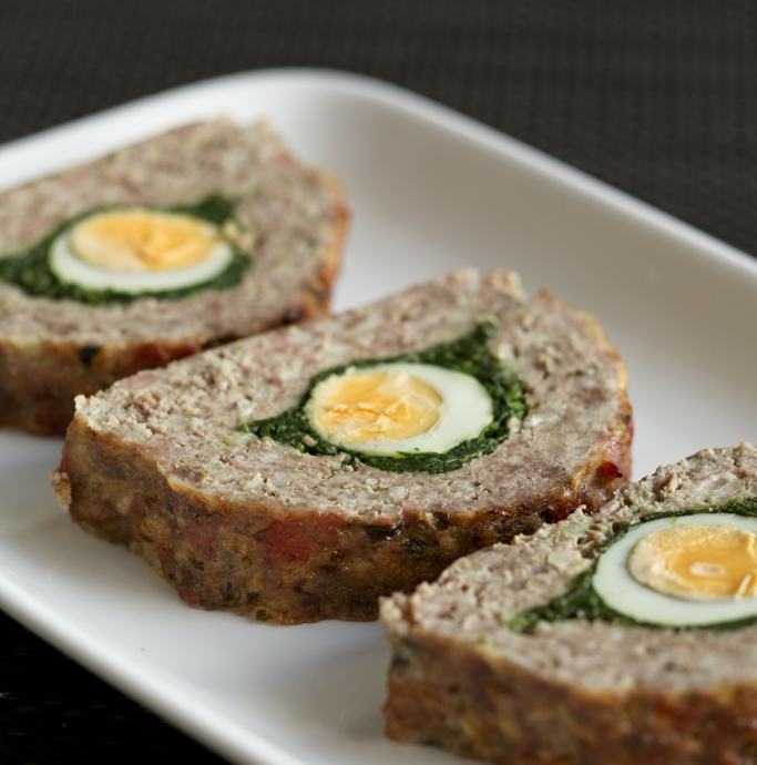 Stop what you're doing right now, grab a pound of ground round, and get to crackin' on this magnificent meatloaf recipe. Seriously, folks, this meatloaf is to die for.