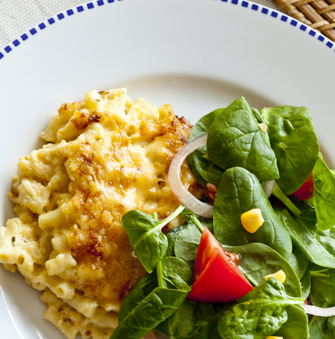 Macaroni And Cheese Fast Ed