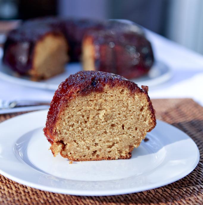 Raspberry Ricotta Bundt Cake